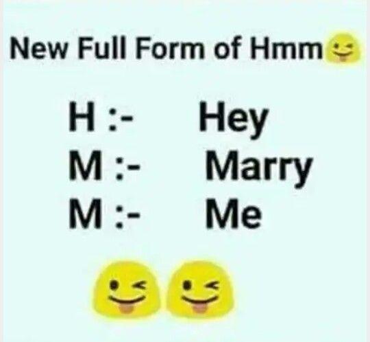 Top Five Hmm Meme Hey Marry Me - Circus