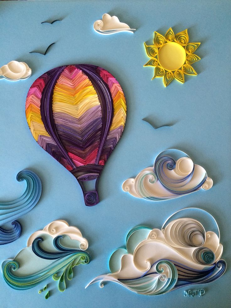 Hot air balloon quilling                                                       …