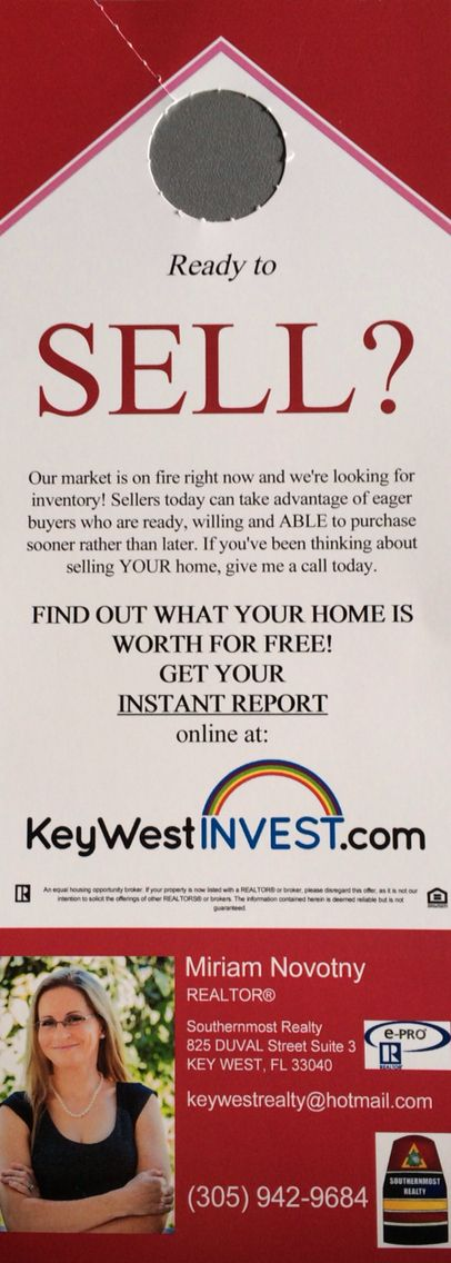 13 best real estate door hangers images on pinterest