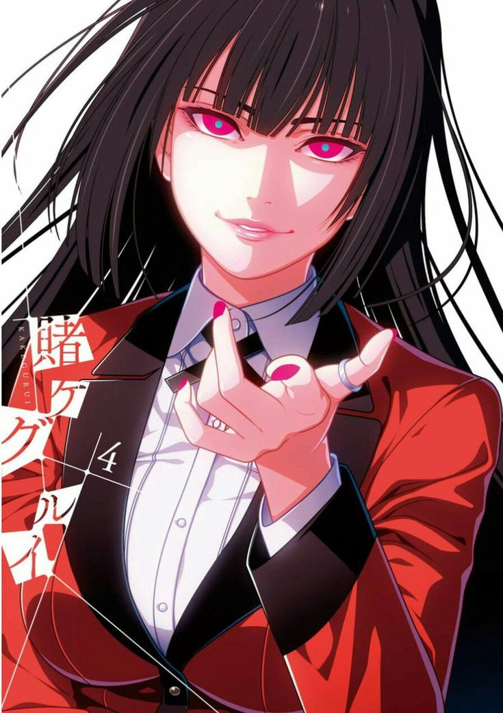 yumeko jabami Arte anime, Kakegurei, Imagem de anime