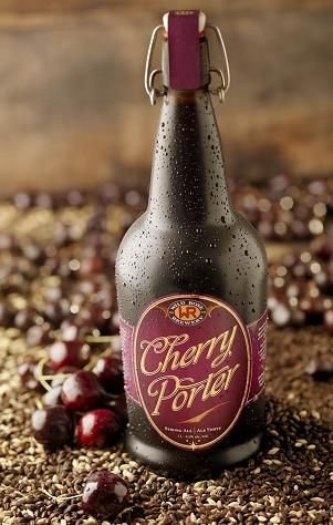 I wish I still had a couple bottles of this stashed away.    Cherry Porter from Wild Rose Brewery.