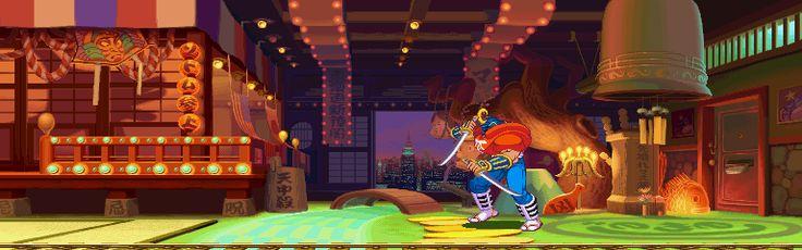 Street Fighter Alpha 3, Sodom stage.