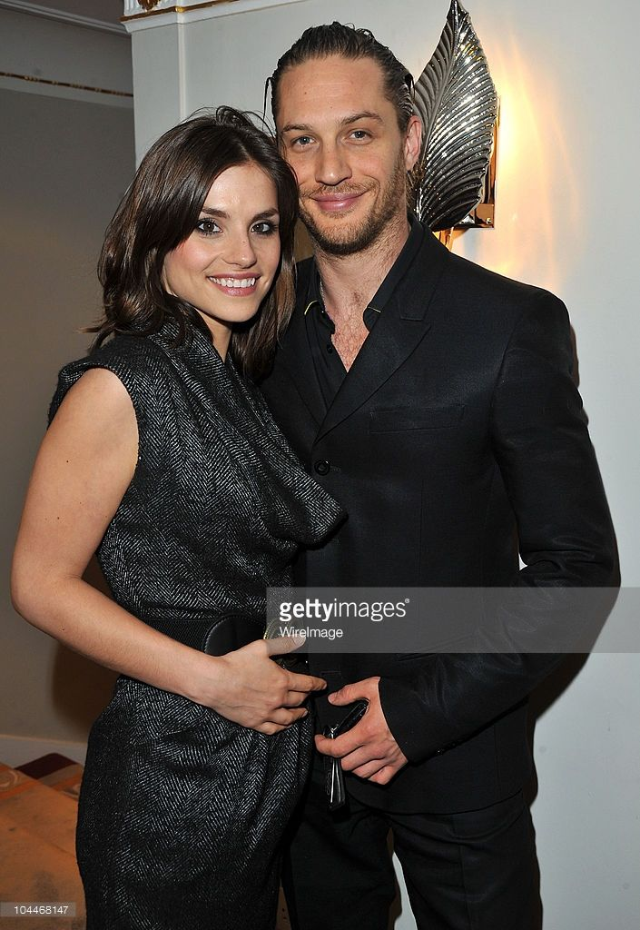 Charlotte Riley and Tom Hardy attends the English National Ballet's Summer Party at The Dorchester on June 15, 2010 in London, England.