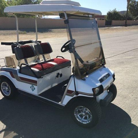 Club Car Golf Cart 36 Volt (street legal) (Rare) roof AC cooler Cl...