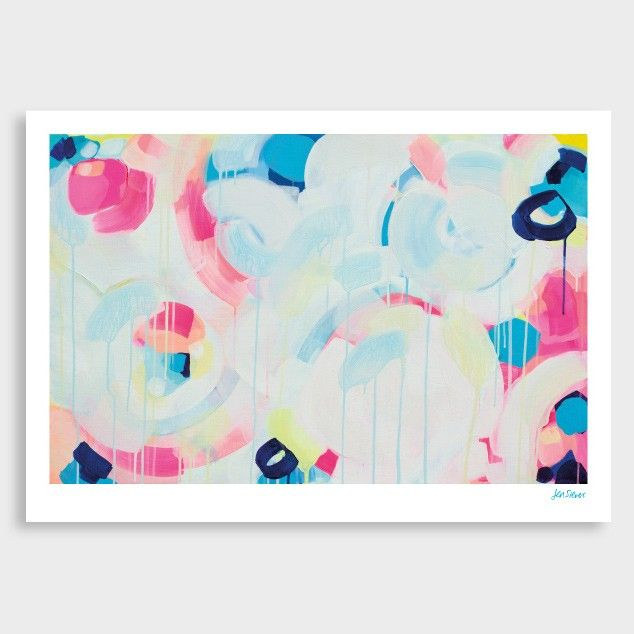 Instant Crush Art Print by Jen Sievers