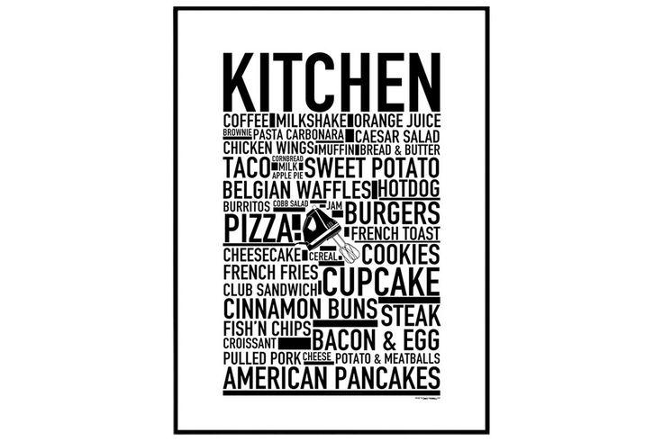 Kitchen Juliste 30x40 cm - | Kodin1.com