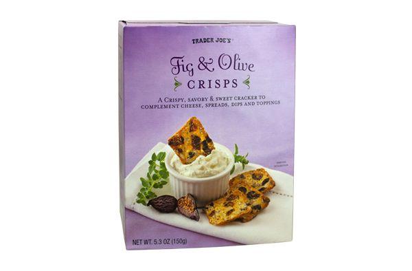 Fig & Olive Crisps   Trader Joe's $3.99