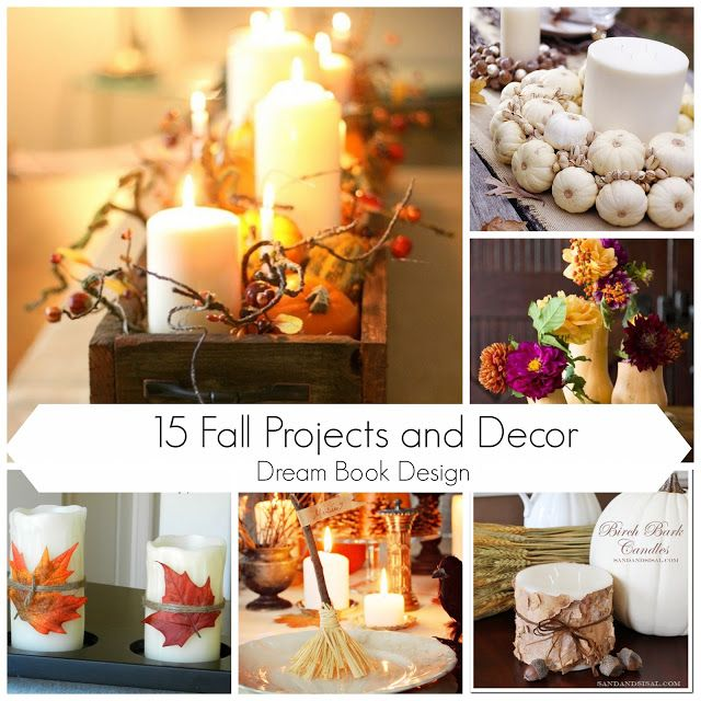 15 Fall Projects And Decor Roundup by Dream Book Design