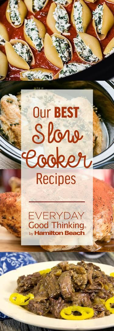 Our 9 Best Slow Cooker Recipes & Slow Cooker Giveaway - Everyday Good Thinking