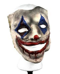 Creepy Smiling Bloody Clown Mask - 377102 | trendyhalloween.com