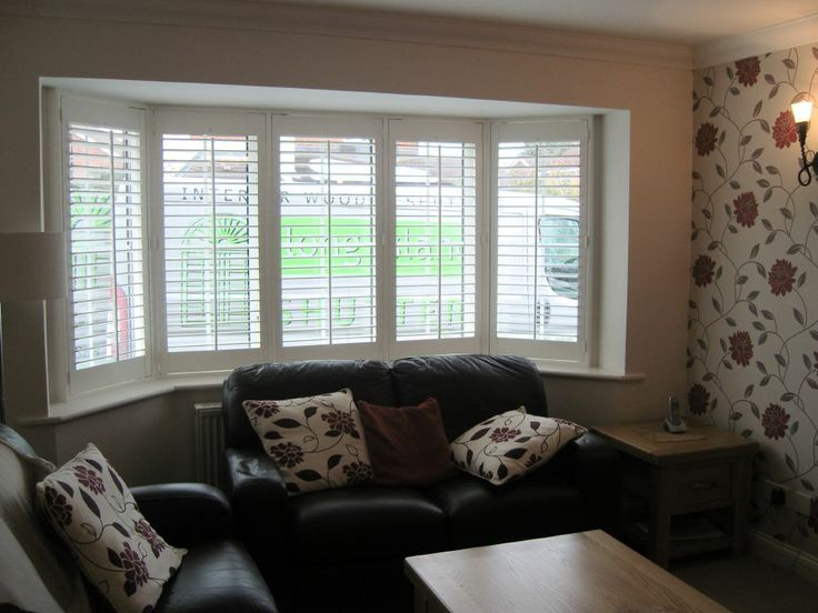 533 best images about window shutters on pinterest for 1930s bay window curtains