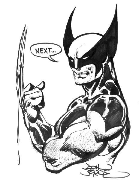 Wolverine by John Byrne.