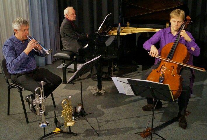 Triple Berry Trio in concert.