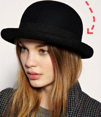 Trendy Way: En invierno...tu sombrero  Bombin: Es el sombrero tipo hongo, con copa y ala redonda. Así como este...