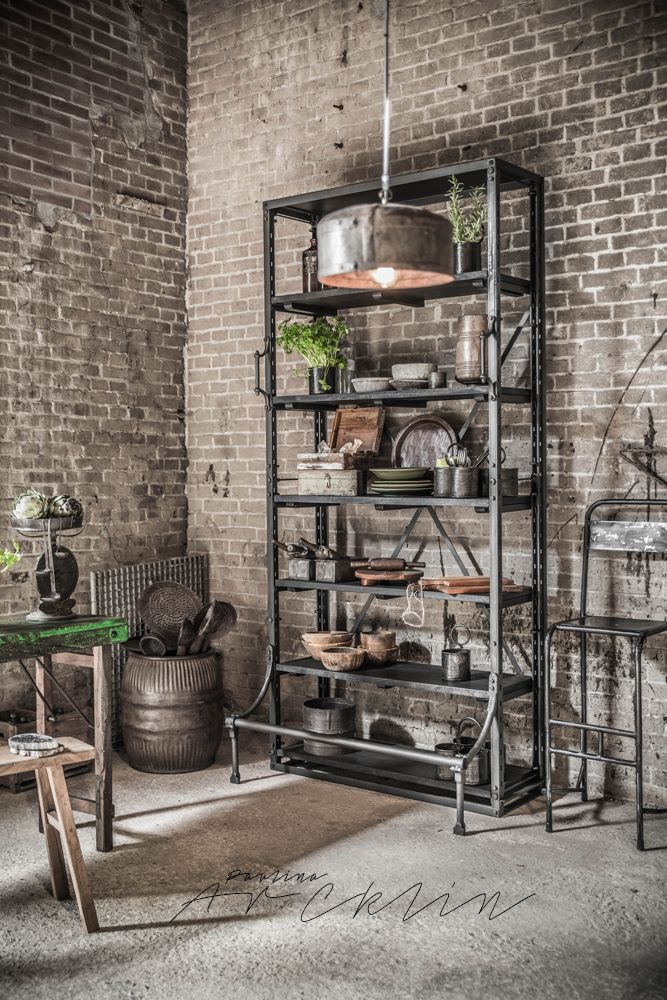 1000 ideas about industrial interiors on pinterest - Vintage industrial interior design ...