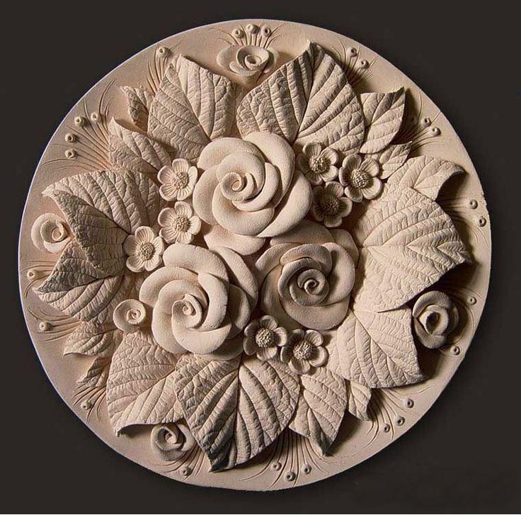 цветы из глины с картинками выщипывают