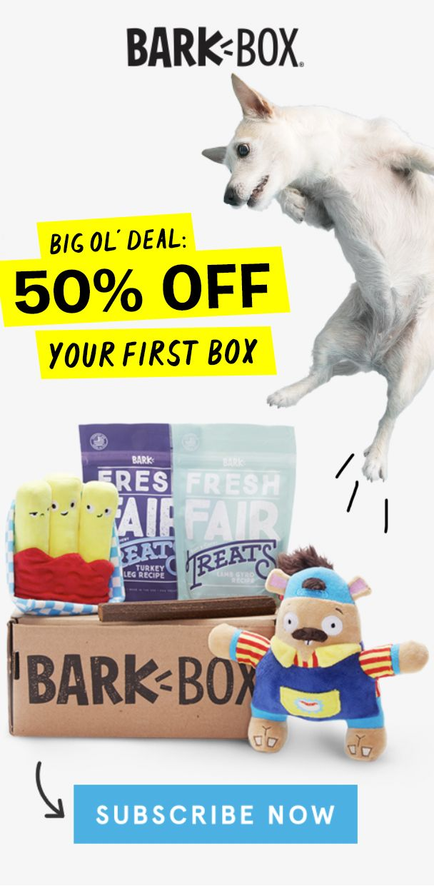 Limited Time 50 Off Your First Box Treat Your Dog This Winter Season With 2 Innovative Toys 2 All Natural Bags Of Treats Baby Chihuahua Bark Box Corso Dog