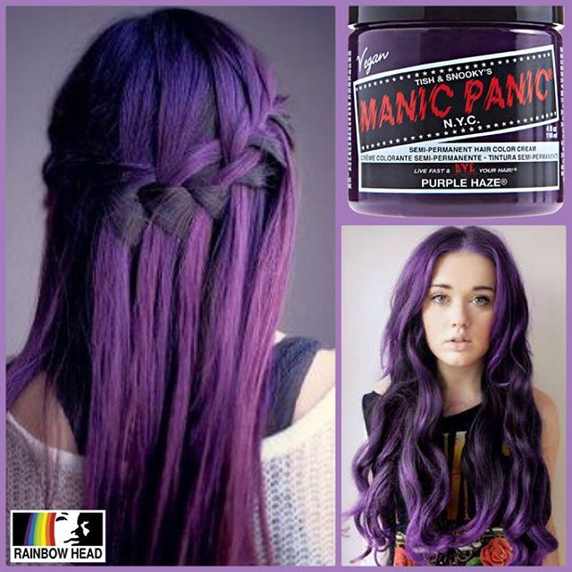 Manic Panic Purple Haze available at @rainbowhead_ph! Classic Php 750 118ml (4oz) Manic ...