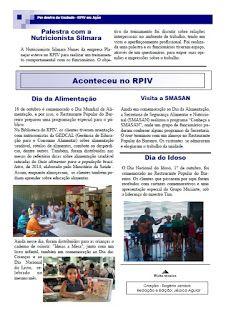 Restaurante Popular do Barreiro: Informativo: Rogério Pinto-Auxiliar de Cozinha funda informativo interno