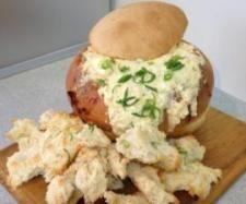 Recipe Cheesy Bacon Cob Loaf by jenny - Recipe of category Baking - savoury