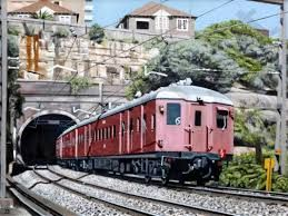 """You could ride the """"Red Rattler"""" train within the Sydney metropolitan area on a 10 cent excursion ticket all day."""
