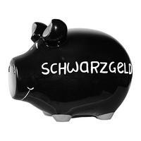 """Sparschwein """"Schwarzgeld"""" Monsterschwein 30 cm  - KCG"""