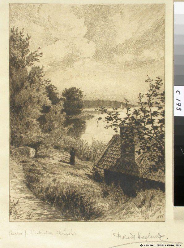 Suomen Kansallisgalleria - Taidekokoelmat - Aihe Tukholman saaristosta