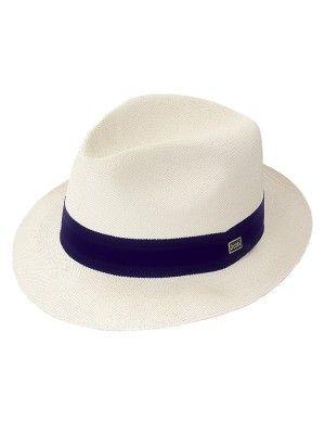 44d5e4cfae385b Dobbs Center Dent - Straw Fedora Hat | Mens fashion | Straw fedora ...