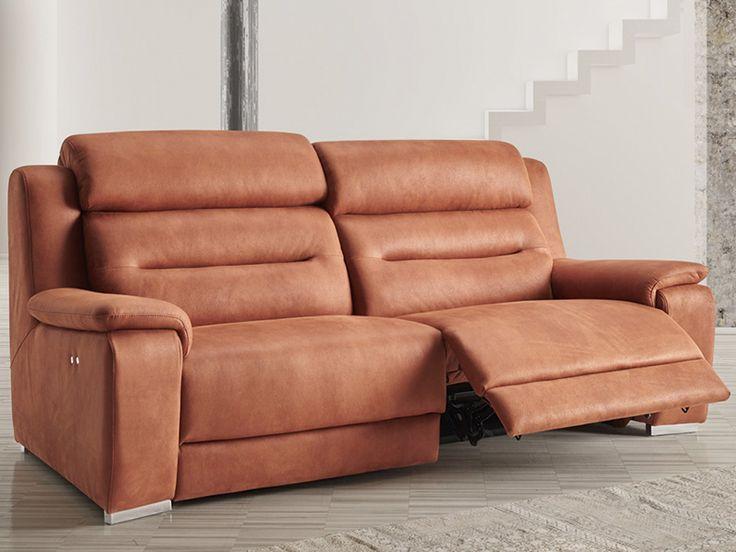 Sofá relax de 3 y 2 plazas modelo Fusión fabricado por Acomodel en Sofassinfin.es