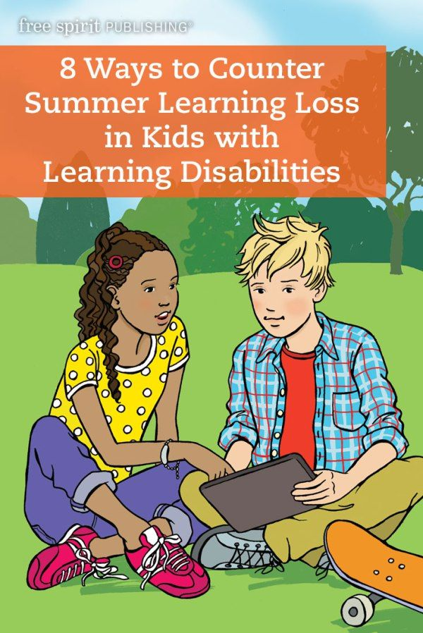 8 Ways To Counter Summer Learning Loss In Kids With Learning Disabilities Summer Learning Summer Learning Loss Learning Disabilities
