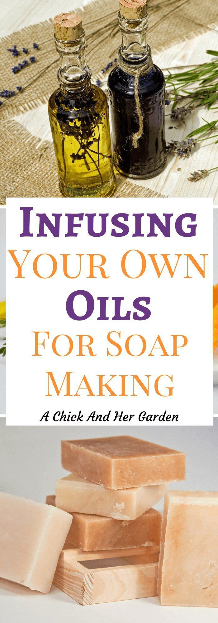 How can you add the benefits of herbs to your soaps? By infusing your own oils! See how easy it is here! #naturalskincare #soapmaking #healthandbeauty #soap #selfsufficient #DIY