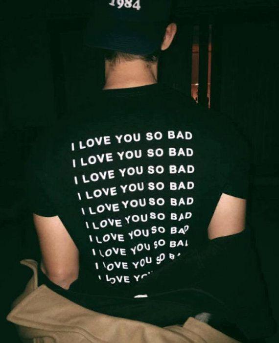 LANY - I Love You So Bad T-shirt - SCOTT