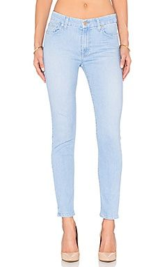 Узкие джинсы the ankle skinny - 7 For All Mankind, 7 for all mankind