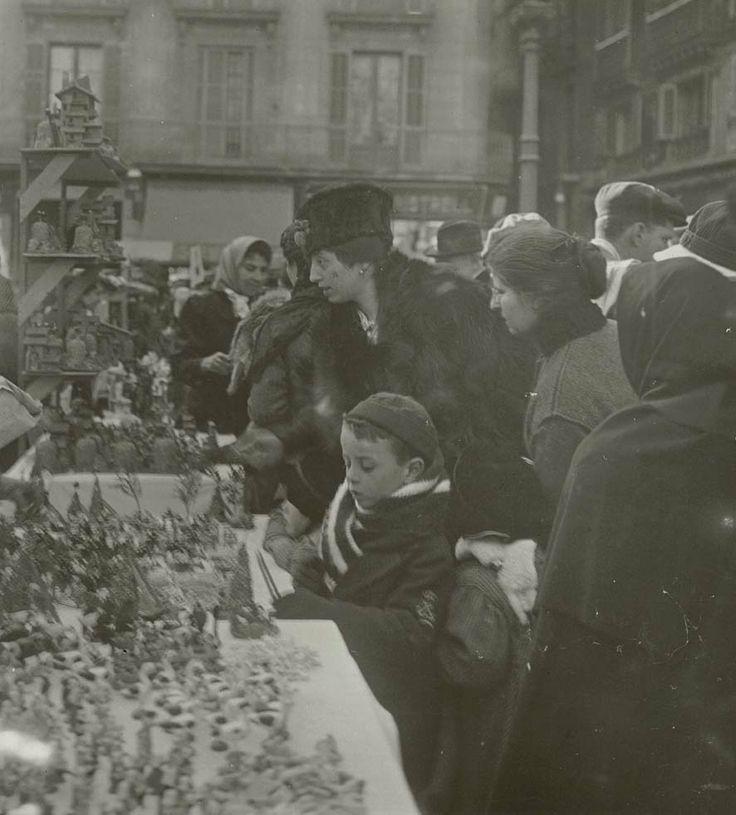 Fira de Santa Llúcia, 1916. AFB Frederic Ballell ∞ Barcelona
