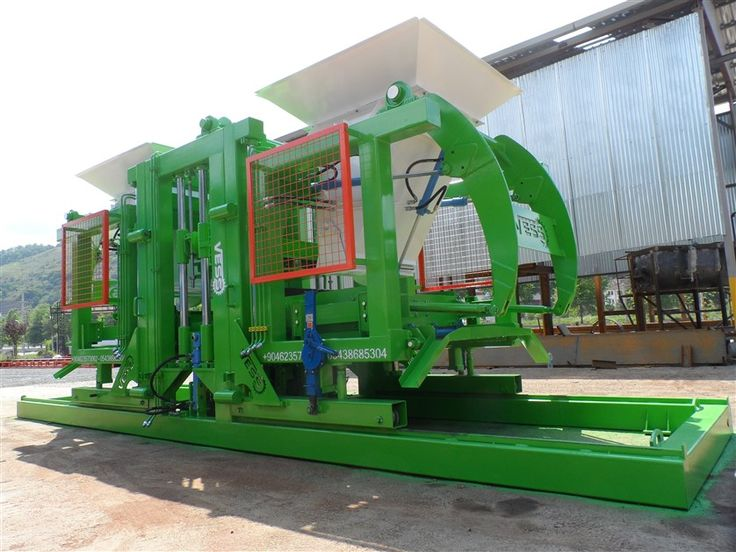 Brick and block making machines for sale: The Beysanmak-VE 18.2 brick and block making machines for sale is one of the  largest capacity machines. With brick and block making machines for sale you can make different designs of concrete blocks, bricks, paving stone and curbstone by only changing moulds of the brick and block making machines for sale stands for the production quantity and quality.