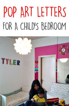 An easy way to make a Pop Art Bedroom