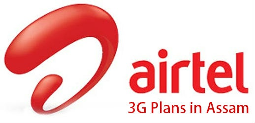 Airtel 3G Plans in Assam for Dongles and Mobiles (Prepaid)