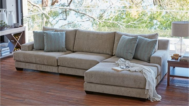 Miller 4.5 Seater Lounge - Lounges - Living Room - Furniture, Outdoor & BBQs | Harvey Norman Australia