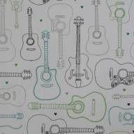 Papel de parede música violão 008