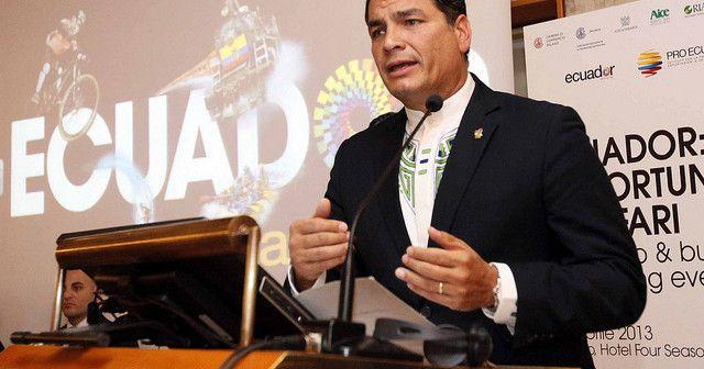 Rafael Correa en Italia | Ecuador Pide A Italia No Quitar Custodia De Hijos A Migrantes Desempleados | Periódico LW