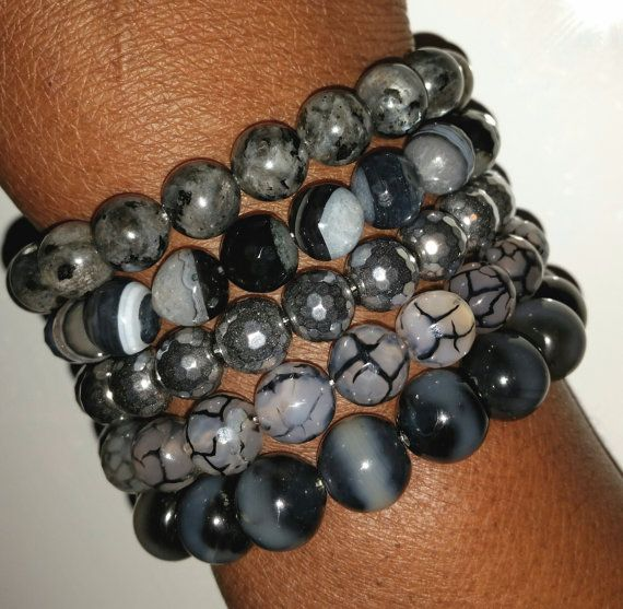 Hey, I found this really awesome Etsy listing at https://www.etsy.com/listing/219468538/opposites-attract-gemstone-stackable-arm