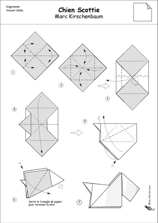 100 best origami animals dog images on pinterest animals dog rh pinterest com Advanced Origami Dog Diagrams Traditional Origami Dog Diagram