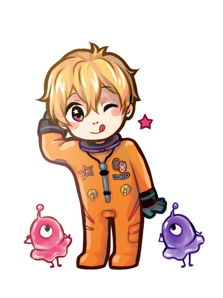 chibi astronaut - photo #6