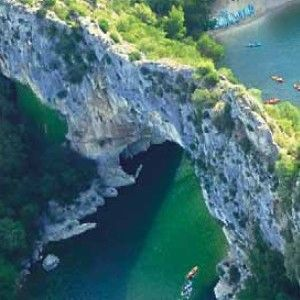 des Gorges de l'Ardèche et de Vallon Pont d'Arc