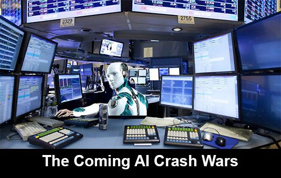 "Here's my latest column titled, ""Artificial Intelligence will be Crashing the…"