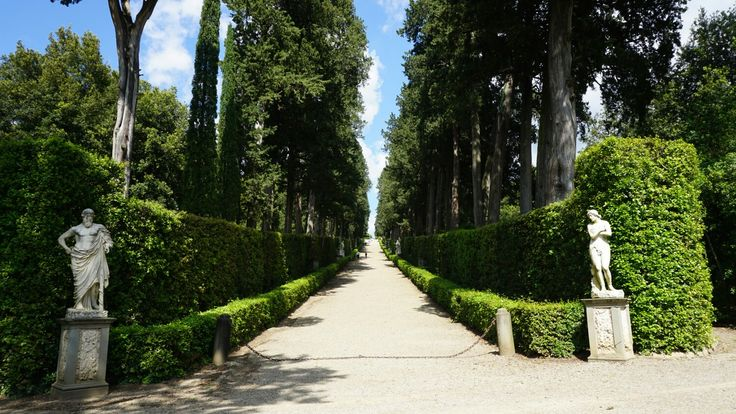 Garden Path - Pitti Palace Florence