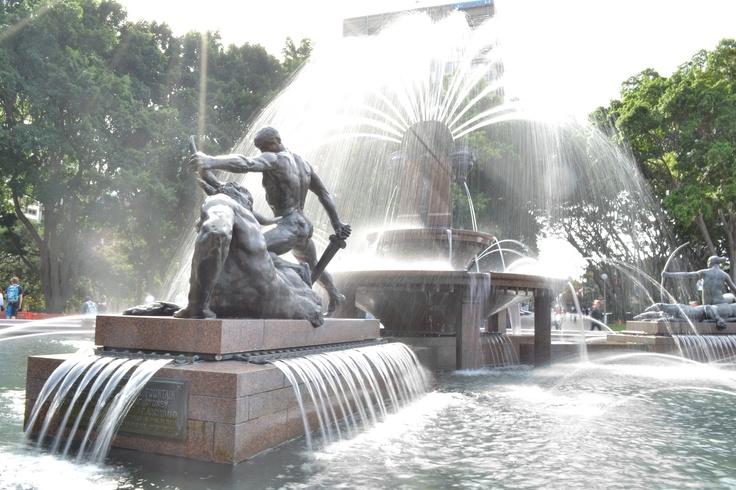 Archibald Fountain Hyde Park