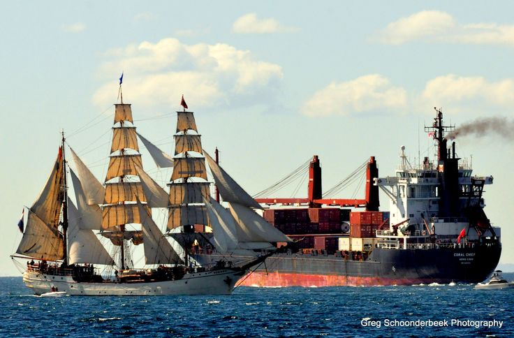 One of my shots Tallships going through the heads