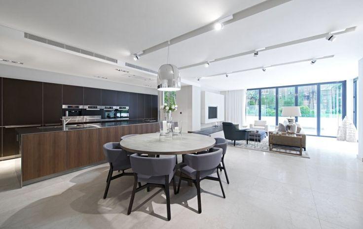 Notte Pendant By Mengotti for Prandina: Kitchens, Idea, Open Plans, Shh 06, Addison Roads, Interiors Design, London Houses, Home Decor, West London