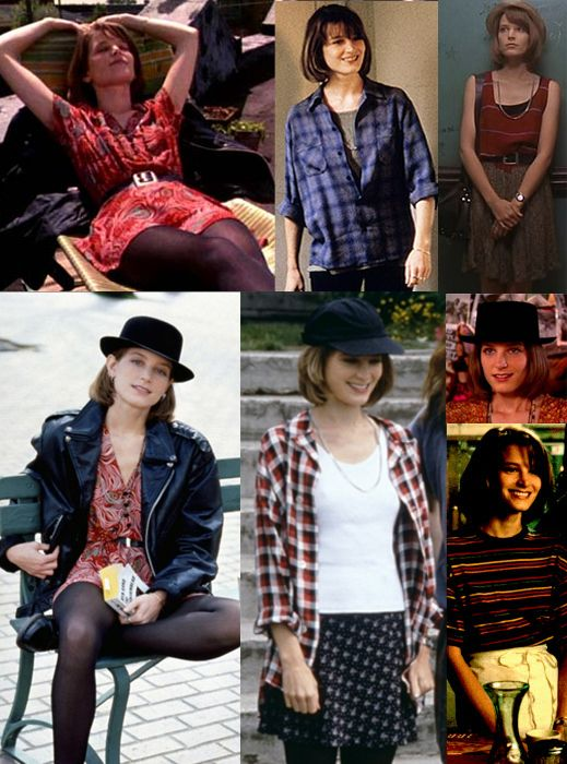 Bridget Fonda in Singles!! This is two slots down on your list, Dragon! She's one of my greatest style inspirations and personal soul-twins from the 90s!